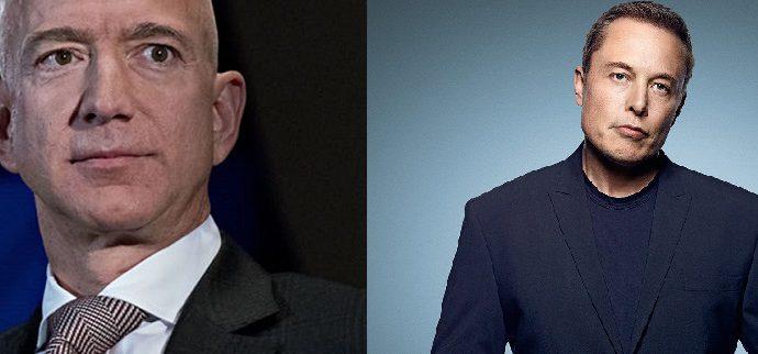 Bezos, Musk smash records